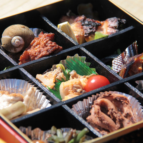 The obento (boxed lunch)