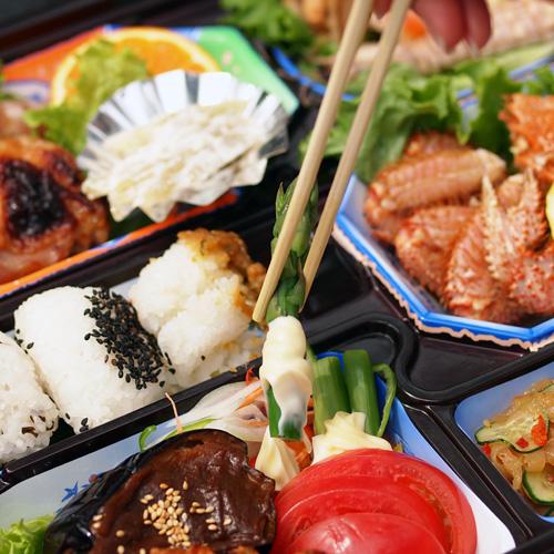 弘前城 弘前公園で行われる手ぶらで観桜会の弁当