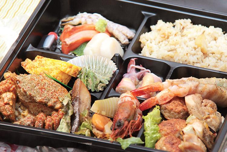 手ぶらで観桜会 通常コースのお弁当