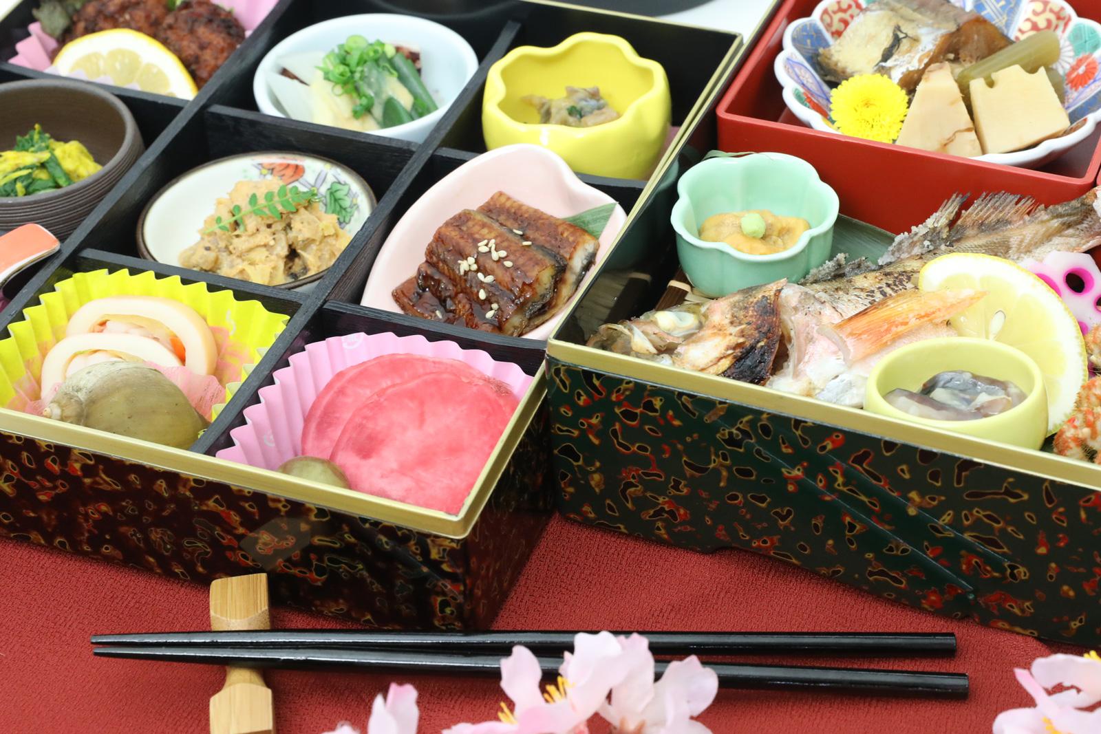 手ぶらで観桜会のお弁当(極コース)